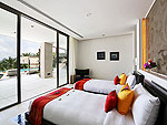プーケット その他・離島のホテル : ヴィラ トルチェッロ(Villa Torcello)の4ベッドルームルームの設備 Fourth Bedroom