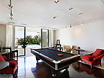 プーケット その他・離島のホテル : ヴィラ トルチェッロ(Villa Torcello)の4ベッドルームルームの設備 Game Room