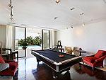 プーケット その他・離島のホテル : ヴィラ トルチェッロ(Villa Torcello)の5ベッドルームルームの設備 Game Room