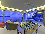 プーケット その他・離島のホテル : ヴィラ ワング ナム ジャイ(Villa Wang Nam Jai)の2ベッドルームルームの設備 Game Room