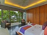 プーケット その他・離島のホテル : ヴィラ ワング ナム ジャイ(Villa Wang Nam Jai)の3ベッドルームルームの設備 Fourth Bedroom