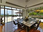 プーケット その他・離島のホテル : ヴィラ ワング ナム ジャイ(Villa Wang Nam Jai)の3ベッドルームルームの設備 Dining Area