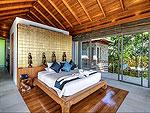 プーケット その他・離島のホテル : ヴィラ ワング ナム ジャイ(Villa Wang Nam Jai)の4ベッドルームルームの設備 Master Bedroom