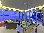 プーケット その他・離島のホテル : ヴィラ ワング ナム ジャイ(Villa Wang Nam Jai)の4ベッドルームルームの設備 Game Room