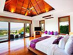 プーケット スリンビーチのホテル : ヴィラ ヤング ソム(Villa Yang Som)の3ベッドルームルームの設備 Fourth Bedroom