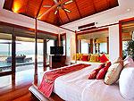 プーケット スリンビーチのホテル : ヴィラ ヤング ソム(Villa Yang Som)の4ベッドルームルームの設備 Master Bedroom