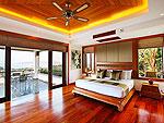 プーケット スリンビーチのホテル : ヴィラ ヤング ソム(Villa Yang Som)の4ベッドルームルームの設備 Third Bedroom