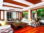 プーケット スリンビーチのホテル : ヴィラ ヤング ソム(Villa Yang Som)の4ベッドルームルームの設備 Living Room