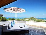 プーケット スリンビーチのホテル : ヴィラ ヤング ソム(Villa Yang Som)の5ベッドルームルームの設備 Terrace