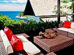 プーケット ファミリー&グループのホテル : ヴィラ ヤング(Villa Yang)の1ベッドルームルームの設備 Sea View