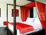 プーケット ファミリー&グループのホテル : ヴィラ ヤング(Villa Yang)の4ベッドルームルームの設備 Second Room