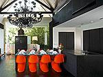 プーケット ファミリー&グループのホテル : ヴィラ ヤング(Villa Yang)の4ベッドルームルームの設備 Dining Area