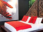 プーケット ファミリー&グループのホテル : ヴィラ イン(Villa Yin)の3ベッドルームルームの設備 Master Bedroom