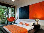 プーケット ファミリー&グループのホテル : ヴィラ イン(Villa Yin)の3ベッドルームルームの設備 Third Bedroom