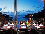 プーケット ファミリー&グループのホテル : ヴィラ イン(Villa Yin)の3ベッドルームルームの設備 Dining Area