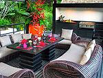 プーケット ファミリー&グループのホテル : ヴィラ イン(Villa Yin)の3ベッドルームルームの設備 Terrace