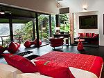 プーケット ファミリー&グループのホテル : ヴィラ イン(Villa Yin)の4ベッドルームルームの設備 Master Bedroom