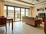 プーケット バンタオビーチのホテル : ヴィスタ デル マー バンタオ ビーチ(Vista Del Mar Bang Tao Beach)の1ベッドルームルームの設備 Living Room