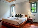 プーケット バンタオビーチのホテル : ヴィスタ デル マー バンタオ ビーチ(Vista Del Mar Bang Tao Beach)の2ベッドルームルームの設備 Second Bedroom