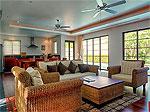 プーケット バンタオビーチのホテル : ヴィスタ デル マー バンタオ ビーチ(Vista Del Mar Bang Tao Beach)の2ベッドルームルームの設備 Living Room