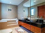 プーケット バンタオビーチのホテル : ヴィスタ デル マー バンタオ ビーチ(Vista Del Mar Bang Tao Beach)の2ベッドルームルームの設備 Bathroom