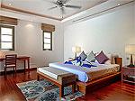 プーケット バンタオビーチのホテル : ヴィスタ デル マー バンタオ ビーチ(Vista Del Mar Bang Tao Beach)の3ベッドルームルームの設備 Master Bedroom