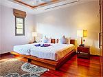 プーケット バンタオビーチのホテル : ヴィスタ デル マー バンタオ ビーチ(Vista Del Mar Bang Tao Beach)の3ベッドルームルームの設備 Second Bedroom