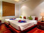 プーケット バンタオビーチのホテル : ヴィスタ デル マー バンタオ ビーチ(Vista Del Mar Bang Tao Beach)の3ベッドルームルームの設備 Third Bedroom