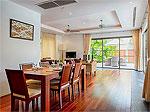 プーケット バンタオビーチのホテル : ヴィスタ デル マー バンタオ ビーチ(Vista Del Mar Bang Tao Beach)の3ベッドルームルームの設備 Dinning Area