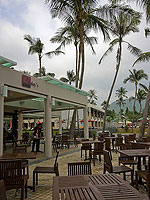 Beachside Restauant : Weekender Resort, Serviced Villa, Phuket