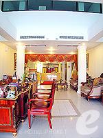 プーケット パトンビーチのホテル : ホワイト サンド リゾテル 「Lobby」