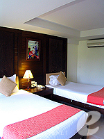 プーケット 5,000円以下のホテル : ココテル プーケット パトン(Kokotel Phuket Patong)のデラックスルームの設備 Bedroom