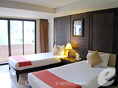 プーケット 5,000円以下のホテル : ココテル プーケット パトン(1)のお部屋「デラックス」