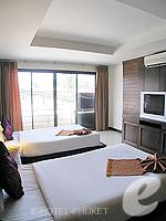 プーケット 5,000円以下のホテル : ココテル プーケット パトン(Kokotel Phuket Patong)のロイヤル スイートルームの設備 Bedroom