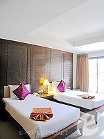 プーケット 5,000円以下のホテル : ココテル プーケット パトン(Kokotel Phuket Patong)のロイヤル スイート(ルームオンリー)ルームの設備 Bedroom