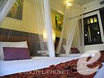 プーケット カロンビーチのホテル : ワラブリ プーケットリゾート&スパ(Woraburi Phuket Resort & Spa)のスーペリア プールビュールームの設備 Bedroom