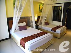 プーケット ファミリー&グループのホテル : ワラブリ プーケットリゾート&スパ(1)のお部屋「スーペリア プールビュー」