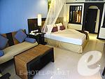 プーケット カロンビーチのホテル : ワラブリ プーケットリゾート&スパ(Woraburi Phuket Resort & Spa)のデラックスルームの設備 Bedroom