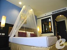 プーケット カロンビーチのホテル : ワラブリ プーケットリゾート&スパ(1)のお部屋「デラックス」