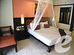 プーケット ファミリー&グループのホテル : ワラブリ プーケットリゾート&スパ(Woraburi Phuket Resort & Spa)のカバナ プールアクセスルームの設備 Bedroom