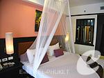 プーケット カロンビーチのホテル : ワラブリ プーケットリゾート&スパ(Woraburi Phuket Resort & Spa)のカバナ プールアクセスルームの設備 Bedroom