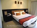 プーケット カロンビーチのホテル : ワラブリ プーケットリゾート&スパ(Woraburi Phuket Resort & Spa)のジュニア スイートルームの設備 Bedroom