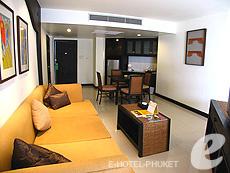 プーケット ファミリー&グループのホテル : ワラブリ プーケットリゾート&スパ(1)のお部屋「ジュニア スイート」
